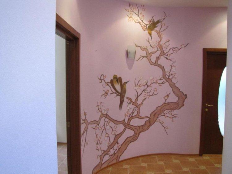 Дизайн окрашивания стен