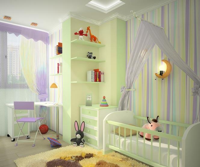 Дизайн комнаты 3 на 3 с фото