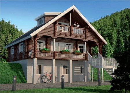 Финские домики – необычность постройки