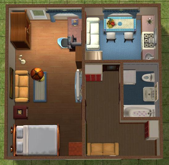 Дизайн проект трехкомнатной квартиры п-44