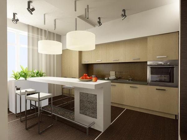 Балкон совмещенный с кухней дизайн