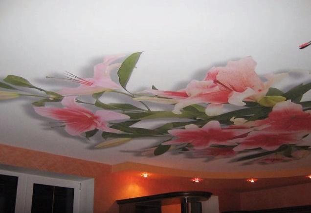 Как выбрать потолок