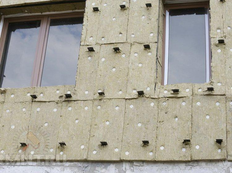 Технология мокрый фасад с утеплением