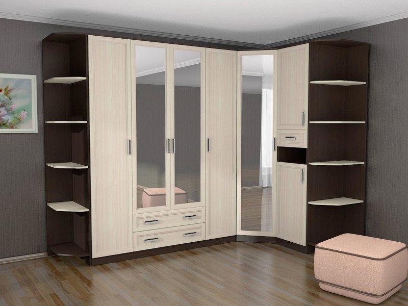 фото корпусная мебель для гостиной угловая