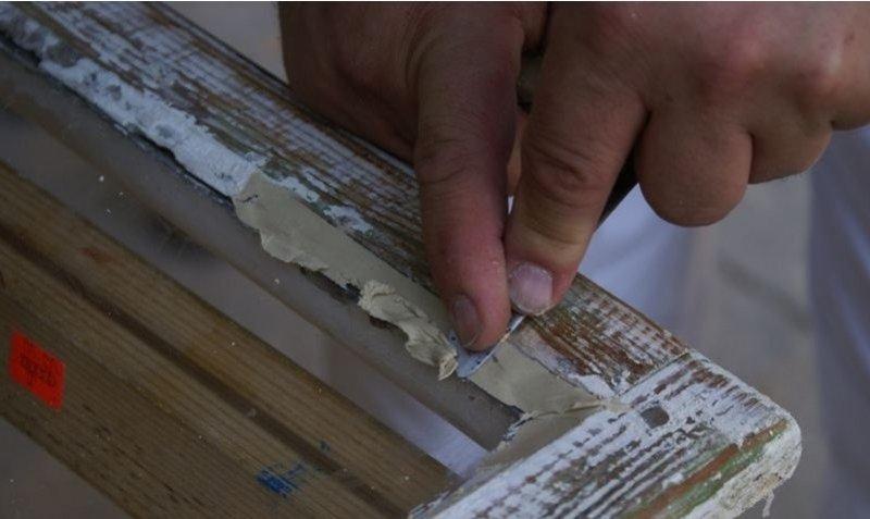 Ремонт деревянных окон со стеклопакетом своими руками 36
