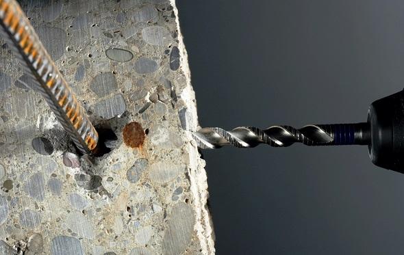 дрель не просверливает бетон