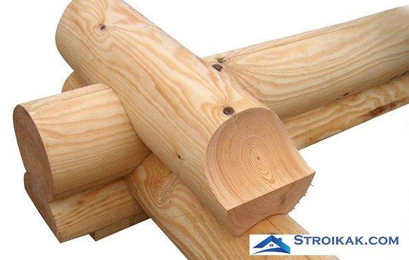 Новые материалы для строительства домов из дерева
