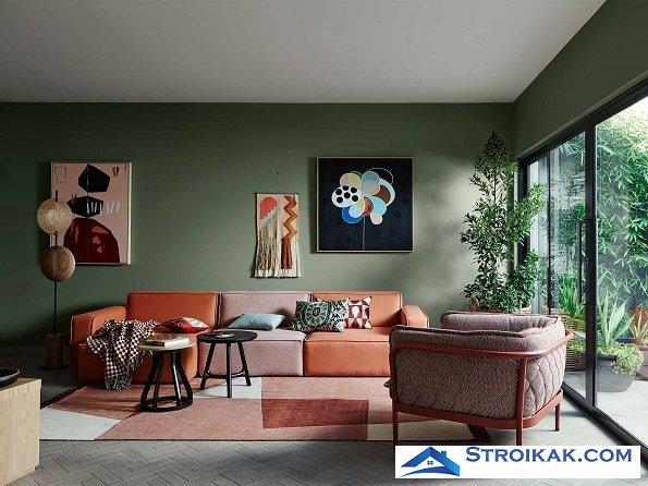 Мебель и стили интерьера 2018