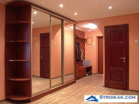 Преимущества встраиваемой мебели для небольших квартир