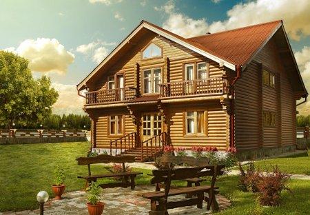Удобен ли деревянный дом?