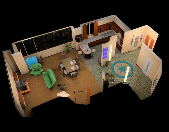 Самостоятельное создание 3D дизайна квартиры