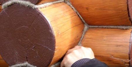 Как конопатить дом из бревна