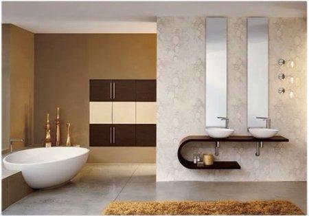 Мебель для ванной: особенности выбора