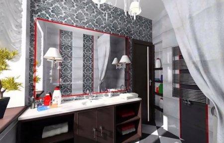 Дизайн ванных в этностилях