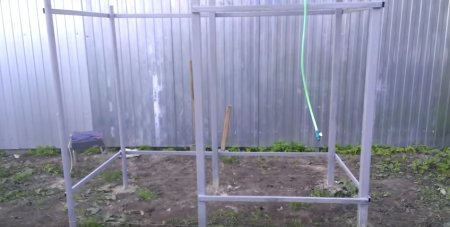 Как построить летний душ для дачи своими руками