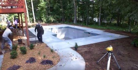 Как самостоятельно установить бассейн?