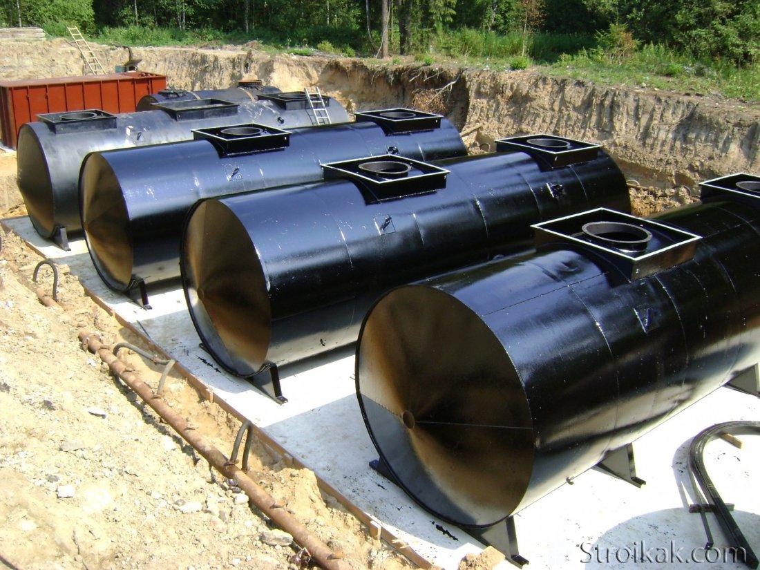 В чем особенности резервуаров для нефти?