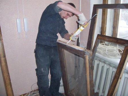Самостоятельная реставрация деревянных окон.