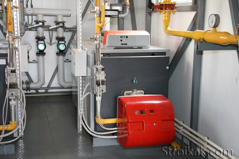 Системы отопления в загородных домах