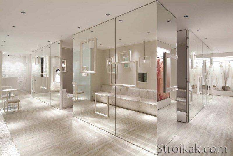 Применение зеркал в интерьере