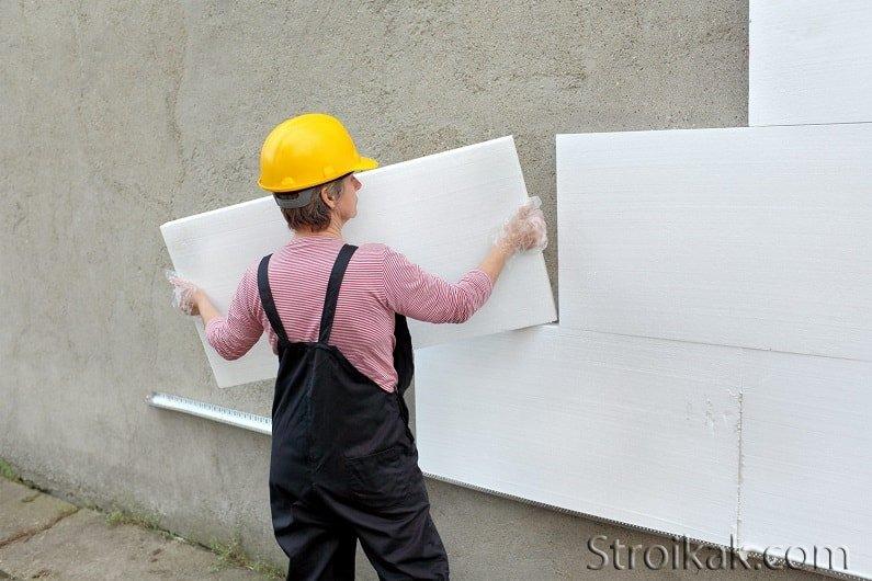 Обзор материалов для утепления фасадов