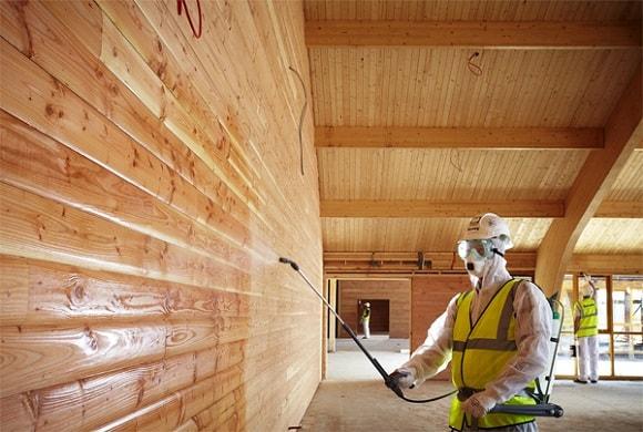 Биопирен. Как правильно защитить древесину.