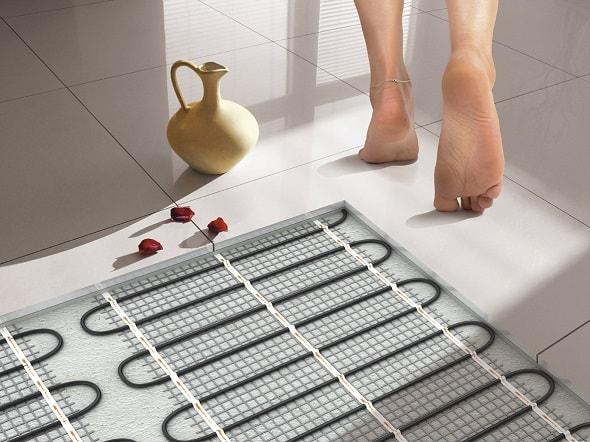 Электрический теплый пол в квартире: монтаж и использование.