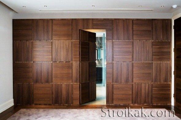 Скрытые межкомнатные двери - уникальное решение для малогабаритных квартир