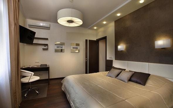 Как организовать освещение в спальной комнате