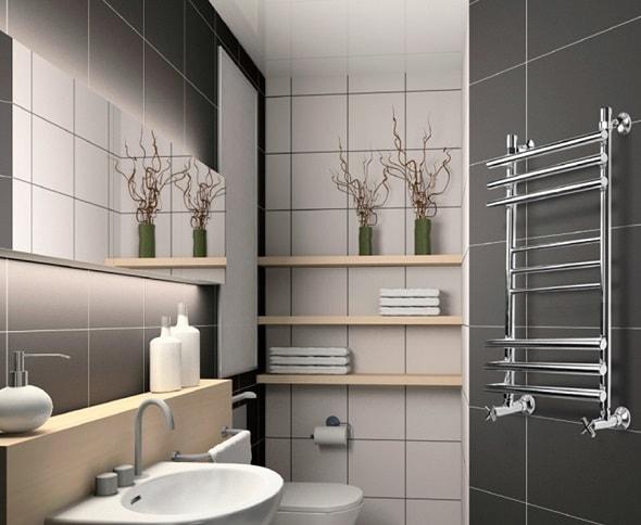 Аксессуары для ванной - раковины, ширмы, полотенцесушители.