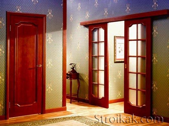 Основные виды межкомнатных дверей.