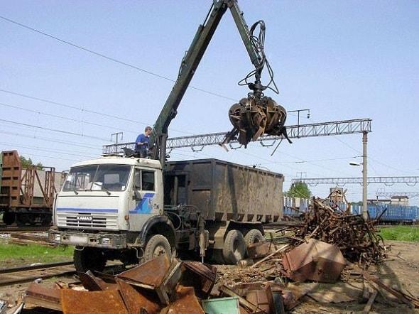 Процедура приема и вывоза металлолома