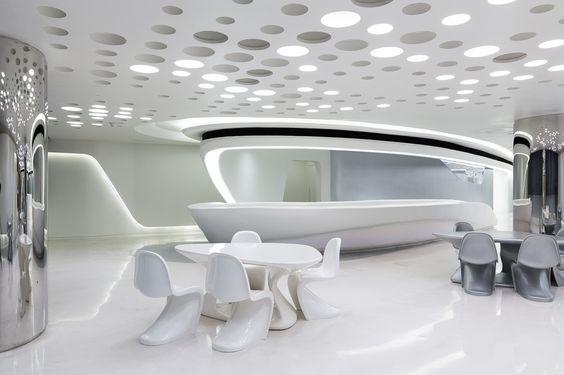 Хайтек в дизайне интерьера
