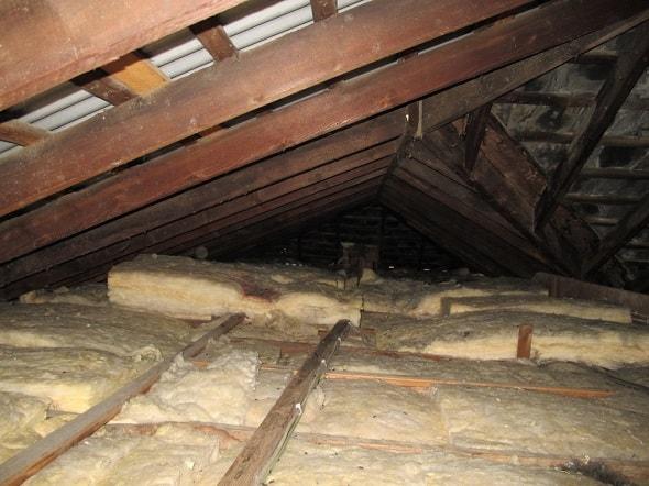 Теплоизоляция чердака деревянного дома
