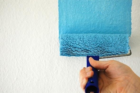 Покраска стен ванной