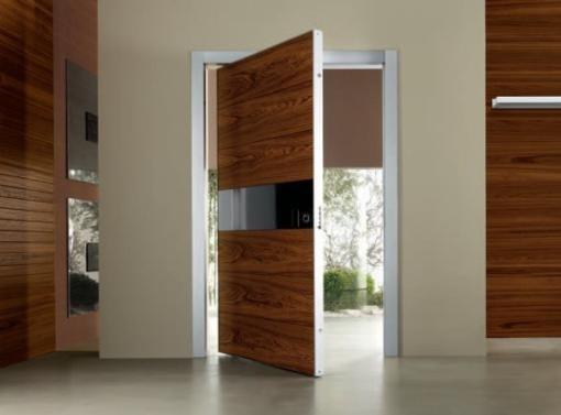 Роскошные двери из шпона