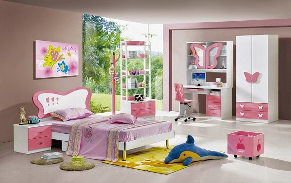Обновление интерьера детской комнаты