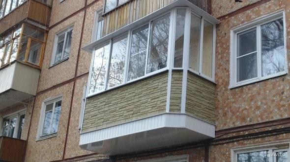 Обустройство балкона на первом этаже