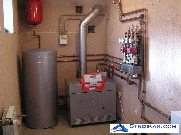 Газовый котел для отопления частного дома как выбрать
