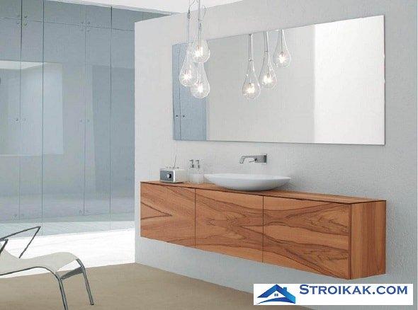Зеркала для ванной: типы, модели и их особенности