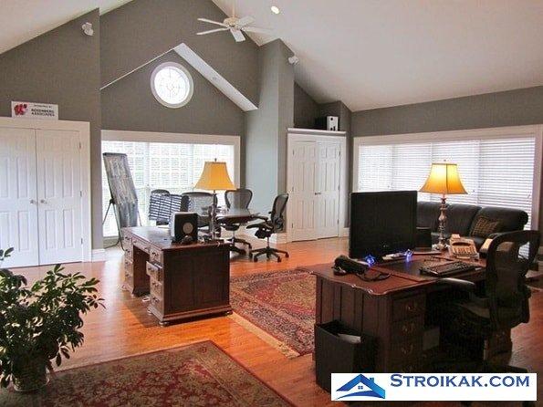 Дизайн кабинета в квартире и выбор мебели для кабинета
