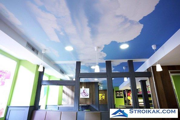 Натяжной потолок - выбор современного человека