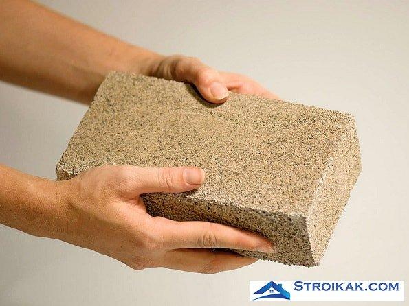 Биокирпич - новый строительный материал