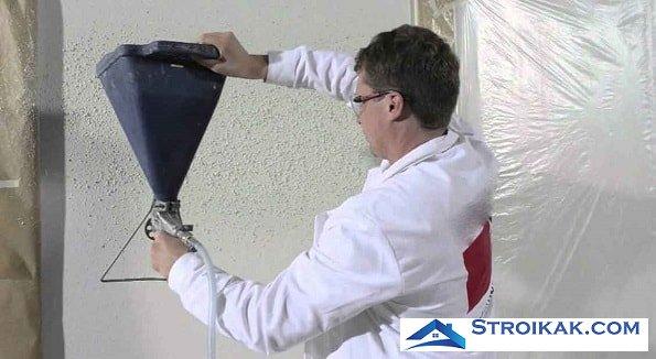 Нанесение флокового покрытия