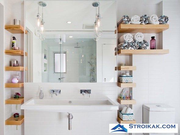 9 идей, позволяющих избежать беспорядка в ванной