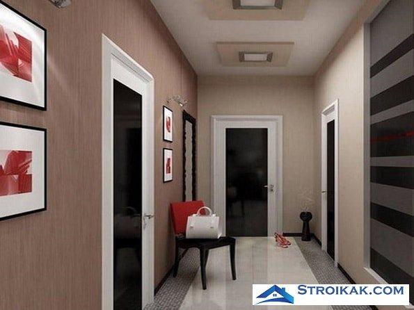 Дизайн коридора: несколько полезных советов