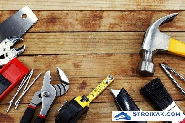 Инструменты для отделки стен деревом