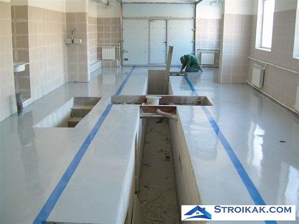 Полиуретановые покрытия для защиты бетона