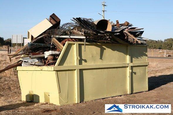 Виды строительных отходов и их утилизация