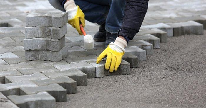 бетон для мощения дорожек